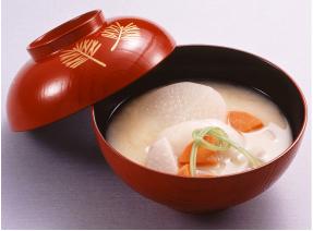 関西ではお雑煮に欠かせない白味噌の」